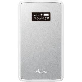 NEC Aterm MP02LN SIMフリー モバイル ルーター PA-MP02LN-SW 本体 ポケット WiFI ルーター メタリックシルバー テレワーク 在宅勤務 在宅ワーク に