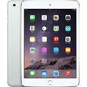 【2/25 10時まで全商品ポイント2倍】アップル iPad mini3 Wi-Fi + Cellularモデル A1600 SIMフリー 16GB シルバー 整備済み品 格安SIM 対応 タブレット