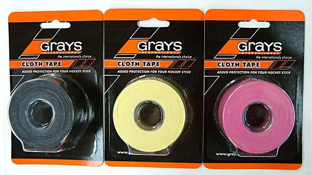 【グレイス】クロステープ(GRAYS CLOTH TAPE)【フィールドホッケーグリップテープ】【ビッグバン】