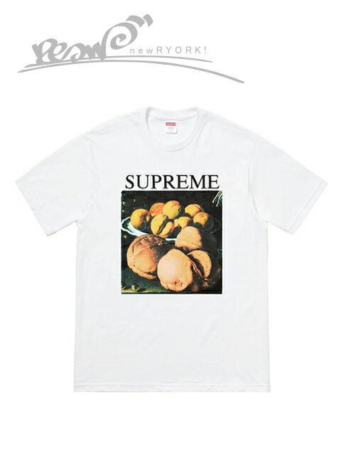 """【送料無料】【あす楽対応】【楽ギフ_包装】【メンズ Tシャツ・ホワイト】Supremeシュプリーム【STILL LIFE TEE】【FW18T40】【L】""""シュプリームスティルライフTシャツ"""""""