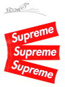 """【送料無料】【ステッカー・レッド】Supremeシュプリーム【Supreme Box Logo Sticker】""""シュプリームボックスロゴス…"""