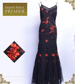 キャバ嬢 ドレス シルクのしなやかな素材がとってもシルキーなインポートロングドレス イベント用一押し商品[C97067-Z20][ar-rv-n]【送料無料】【M】