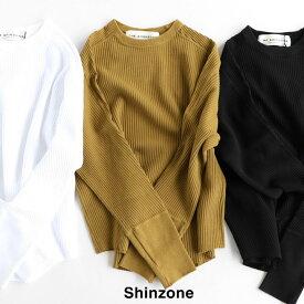 SHINZONE(シンゾーン) ミリタリーリブプルオーバー(19AMSCU16)