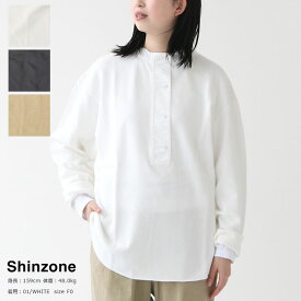 【20%OFFセール!】SHINZONE(シンゾーン) MILITALY HENLEY PULLOVER(20SMSCU06)