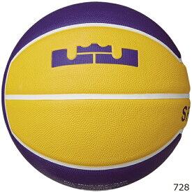 NIKE ナイキ バスケットボール 7号球 レブロン プレイグラウンド 4P BS3006-728