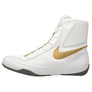 NIKE ナイキ ボクシングシューズ MACHOMAI2 WHITE GOLD 321819-170