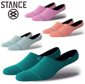 STANCE スタンス GAMUT LOW ローソックス 靴下 socks sox くるぶし ショート インナー スケボー スケート SKATE ストリート アウトドア [TEAL ティアル PINK ピンク BLUE ブルー]