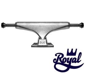 ROYAL ロイヤル TRUCK RAW STANDARD TRUCK トラック SKATEBOARD スケボー スケートボード スタンダード SILVER