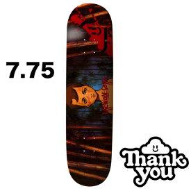 THANK YOU SKATEBOARDS サンキュー DAEWON SONG REVENGE 7.75inc デッキ DECK skate スケボー スケートボード