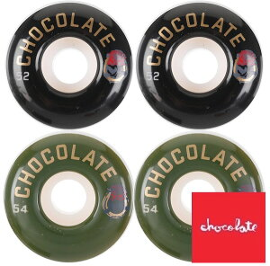 Chocolate チョコレート LUCHADOR WHEEL ウィール Wheels skate スケボー スケートボード [99A/52mm,54mm]