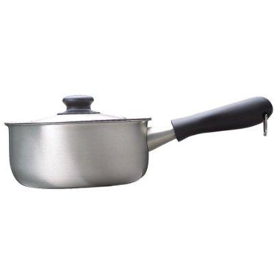 柳宗理 SORI YANAGI ステンレス 片手鍋 つや消し 18cm