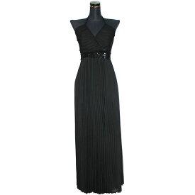 ポイント16倍 キャバ ドレス ロング エンパイア Aライン ストレッチ ホワイト レッド ピンク ブラック フリーサイズ