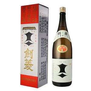 【ポイント5倍 12/1】お歳暮 ギフト 酒 (1本箱入り)剣菱 上撰 1800ml