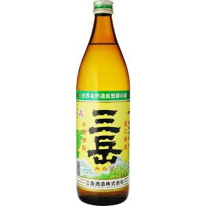 お歳暮 ギフト 酒 芋焼酎 三岳 25度 900ml