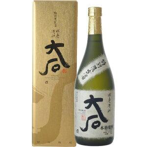 お歳暮 ギフト 酒 大石 樽琥珀熟成 米 25度 720ml