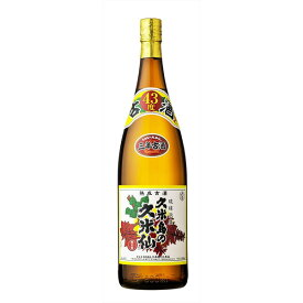 ポイント5倍 9/24 1:59まで 「久米島」 久米島の久米仙 でいご 古酒ブレンド 43度 1800ml(取寄7〜10日かかる場合がございます)
