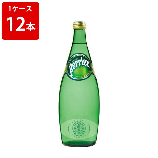 サントリー ペリエ 発泡性ミネラルウォーター 750ml (1ケース/12本入り) お酒/贈り物/喜ぶ