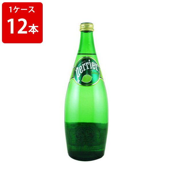 サントリー ペリエ ライム 発泡性ミネラルウォーター 750ml (1ケース/12本入り) お酒/贈り物/喜ぶ