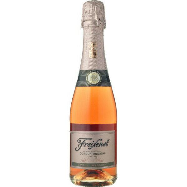(ハーフサイズ) フレシネ セミセコ ロゼ 375ml 正規輸入品(ほのかな甘口) お酒/贈り物/喜ぶ