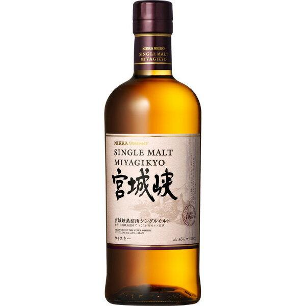ニッカ シングルモルト宮城峡 45度 700ml お酒/贈り物/喜ぶ