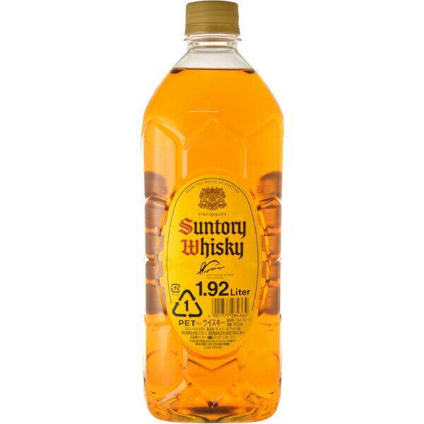 サントリー ウイスキー 角瓶 ジャンボボトル 1920ml ペットボトル お酒/贈り物/喜ぶ