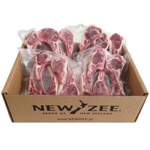 NEWZEE LAMB CHOPS ラムチョップ ニュージーランド産 ラムチョップ 【100%牧草ラム】 20 x 50g チョップ (合計1kg) 【冷凍】