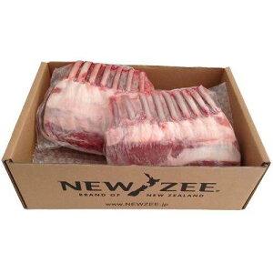 NEWZEE LAMB RACK ラムラック ニュージーランド産 【100% 牧草ラム】 2 x 500g ラック (合計1kg) 【冷凍】