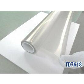 ガラスフィルム 窓 国産 SL8070 特性品名TD7618 透明 断熱 遮熱効果 省エネ 飛散防止 UVカット IRカット 採光 冬季採熱 遠赤外線反射 オーダーカット販売 0.01平米単位 価格自動計算 平板ガラス 内貼り用