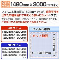 ガラスフィルム窓防災飛散防止怪我防止UVカットGS100Kオーダーカット販売0.01平米単位計算フォーム価格自動計算透明平板ガラス内貼り用