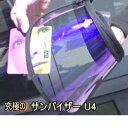 【外出時の紫外線カット】UVb-a-d(400nmまで)全カット 究極のUV/日射熱カットサンバイザー 世界最高品質(トータルケア) UV&赤外線 …
