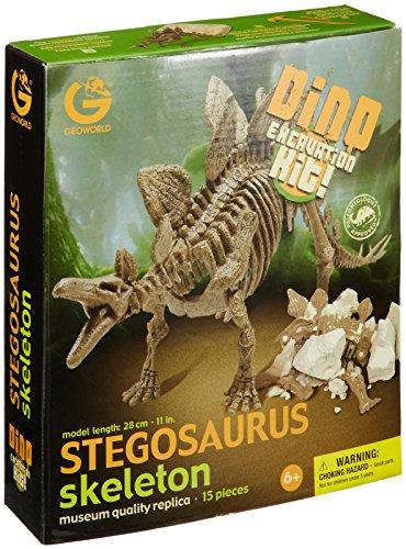 発掘組み立て恐竜ステゴサウルス