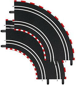 1/43 スロットカーコースセット CARRERA(カレラ) GO!!!/D143 用 カーブ 1/90°2pcs 20061603