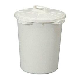 アイリスオーヤマ ゴミ箱 丸型 ホワイト 45L 直径46.5*高さ54.5cm MA-45 / インテリア インテリア小物 ゴミ箱 ごみ箱 トラッシュボックス 筒型