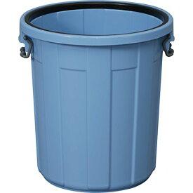 アイリスオーヤマ ゴミ箱 (本体のみ・フタ別売り) 丸型 ブルー 35L 直径42*高さ44cm PM-35 / インテリア インテリア小物 ゴミ箱 ごみ箱 トラッシュボックス 筒型