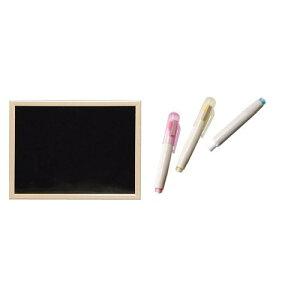 アイリスオーヤマ ブラックボードウッド チョークホルダー 白・赤・黄3本セット / インテリア 収納 オフィス家具 パネル・パーテーション ホワイトボード