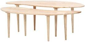 不二貿易 センターテーブル 木製 COFFEE Natural Signature ナチュラル 37004
