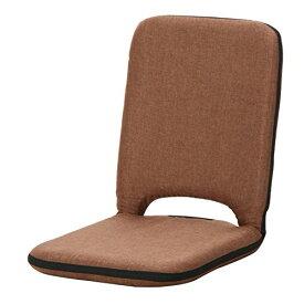 不二貿易 座椅子 薄型 2 PACK タイプ 取っ手 付 シオン ブラウン 65500