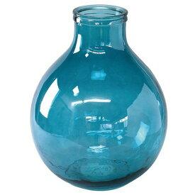 【スパイス】VALENCIA リサイクルガラスフラワーベース TRES ブルー/VGGN1030BL/4548815051269