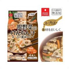 アスザックフーズスープ生活根野菜のけんちん汁35.2g(8.8g×4食)×10袋