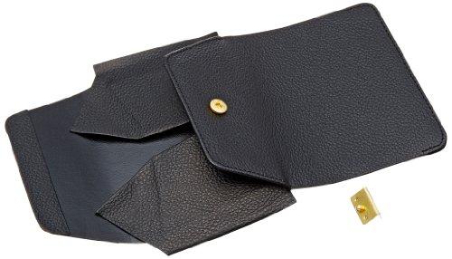 クラフト社 レザークラフト用半製品 小銭入 クックパース 9×11cm 黒 4582-02