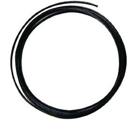 クラフト社 革ひも 丸牛レース 1.2mm 10m 3540 03・黒