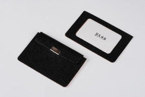 クラフト社 半製品 片面定期入 5セット 黒・14501-02