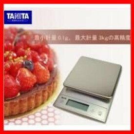 タニタ デジタルクッキングスケール KD−321 シルバー