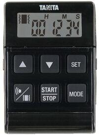 タニタ バイブレーションタイマー24時間計 クイック ブラック TD-370N-BK