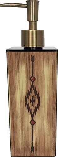 SO-Q STYLE 日本製 カリフォルニア・ネイション ディスペンサー 黒 ネイティブ ブラウン 角型 大 15-453452