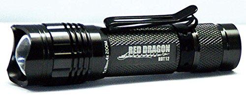 RED DRAGON(レッドドラゴン) LEDヘッドライト 150ルーメン RDT-12 / プロ仕様のコンパクト作業用フラッシュライト!