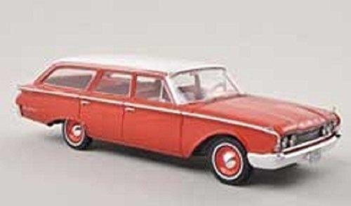 フォード ランチ ワゴン/60レッド/1/43/株式会社 国際貿易/PRD212/9580015700368