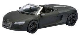 アウディ R8 Spyder (2012)/コンセプトブラック/1/43/株式会社 国際貿易/450752400/4007864075249