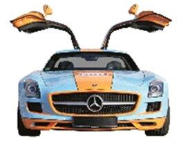 メルセデス・ベンツ SLS AMG クーペ Gulf/1/43/株式会社 国際貿易/450755000/4007864075508