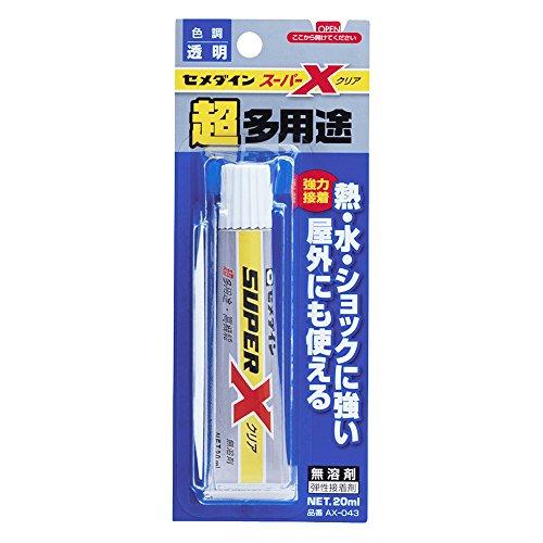 セメダイン/スーパーX クリア スリム/AX-043/4901761161091